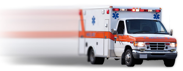 Ambulance for Life Alert, an emergency medical vehicle